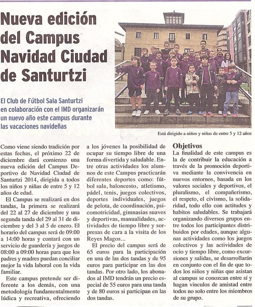 Campus Navidad 2014