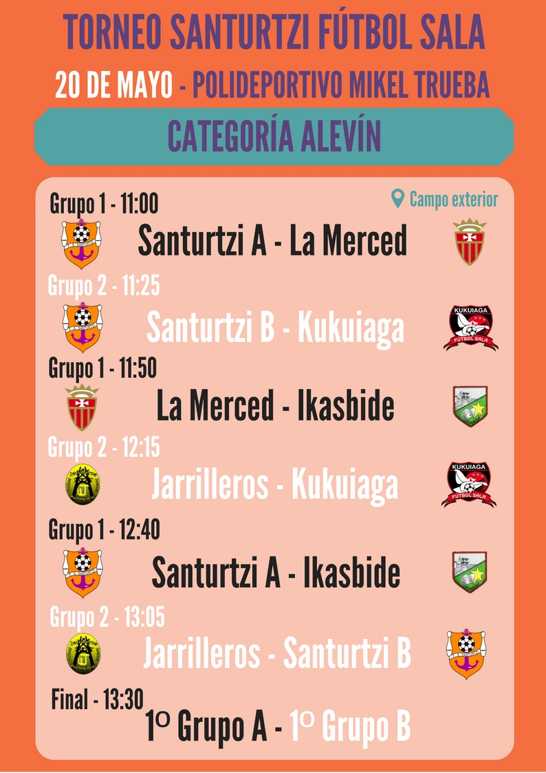 Torneo santurtzi futbol sala_Alevin